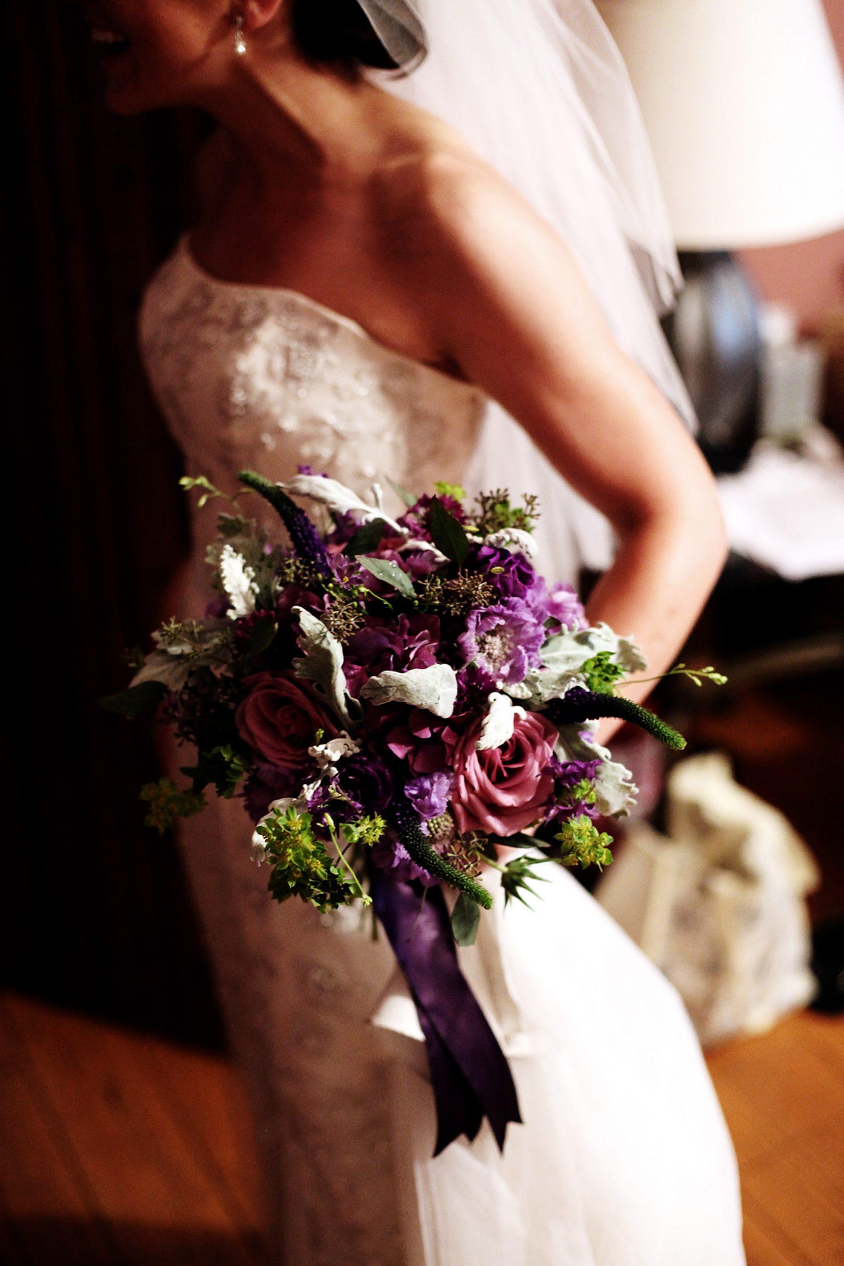 Cloisters Castle Wedding  I  The bride's bouquet.
