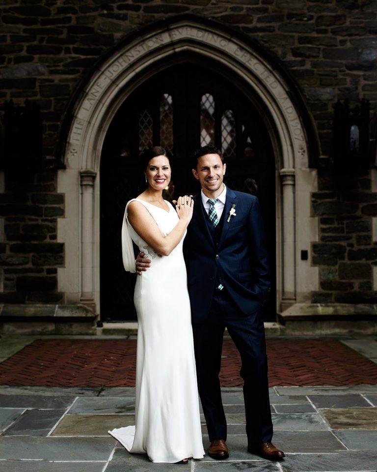 Cosmos Club Wedding in Washington, DC I Portrait of the Bride and Groom