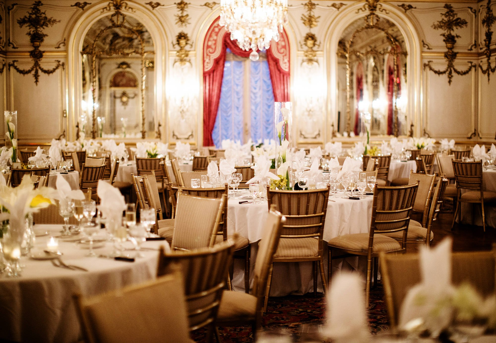 Table Settings at Cosmos Club.
