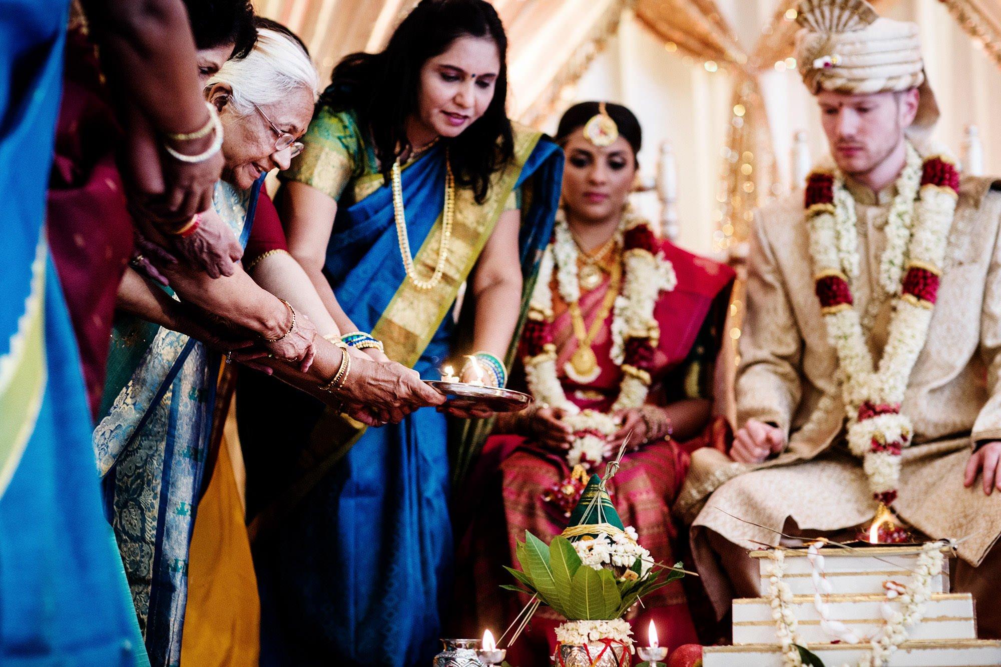 Foxchase Manor Wedding in Manassas, VA  I  Bride and Groom, Hindu Ceremony, Indian Wedding