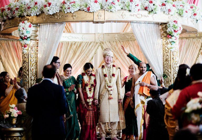 Foxchase Manor Wedding in Manassas, VA I Bride and Groom, Hindu Ceremony