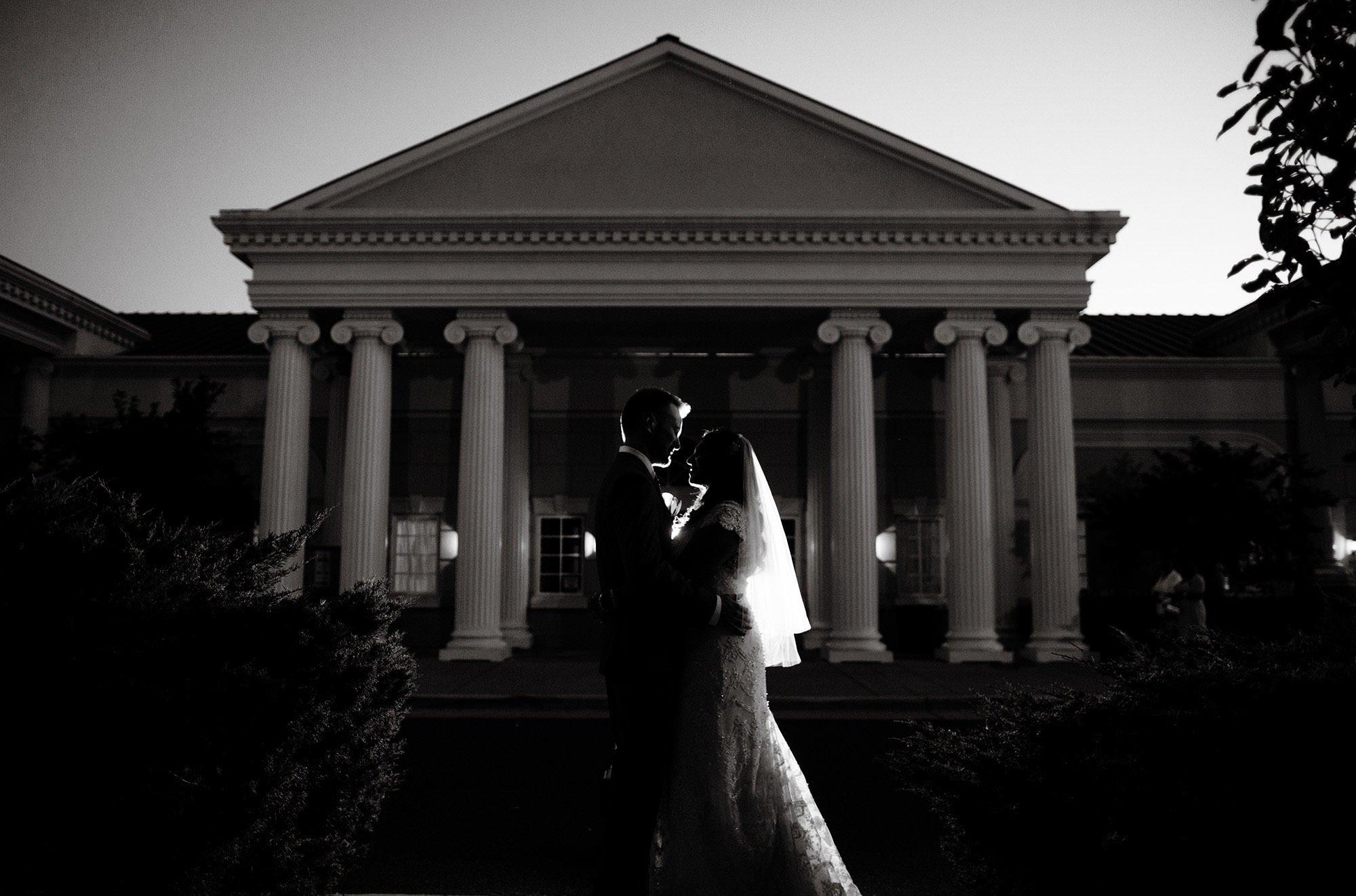 Foxchase Manor Wedding in Manassas, VA  I  Bride and Groom Portrait