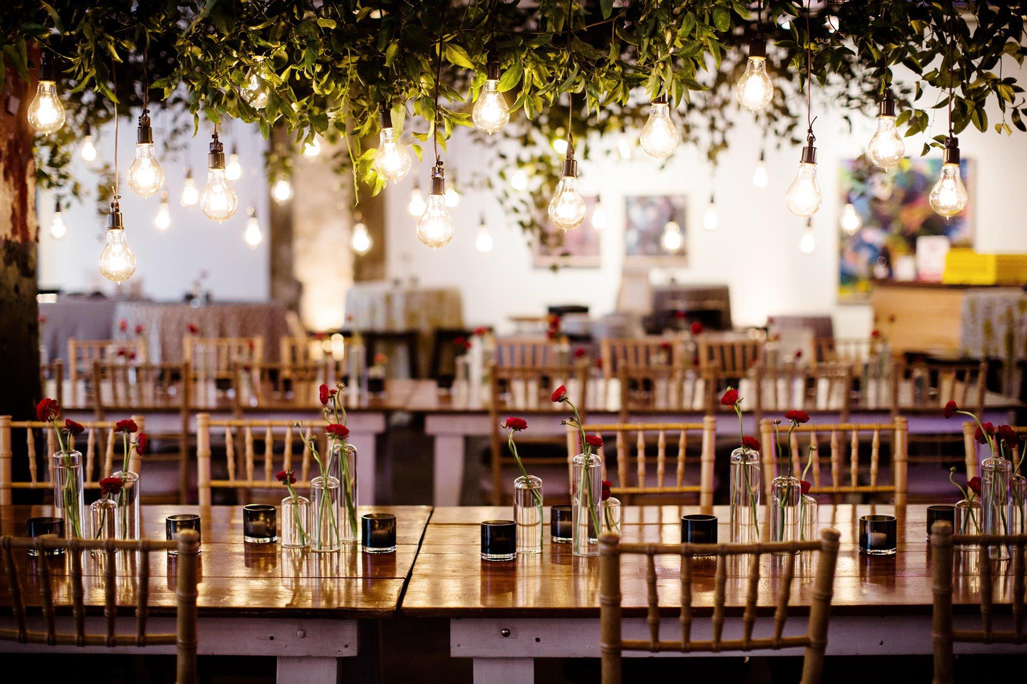Longview Gallery Wedding in Washington, DC  I  Reception Space