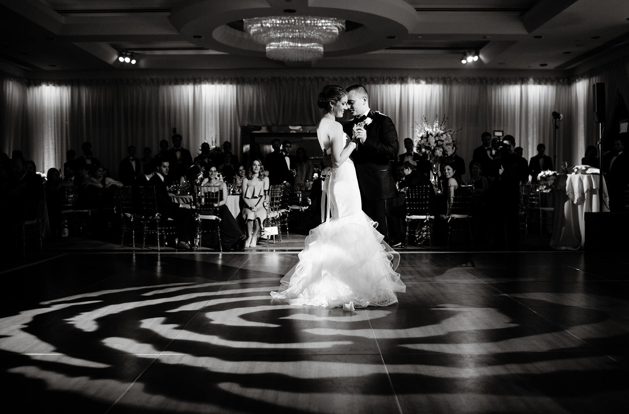 Park Hyatt DC Wedding  I  The bride and groom share their first dance.