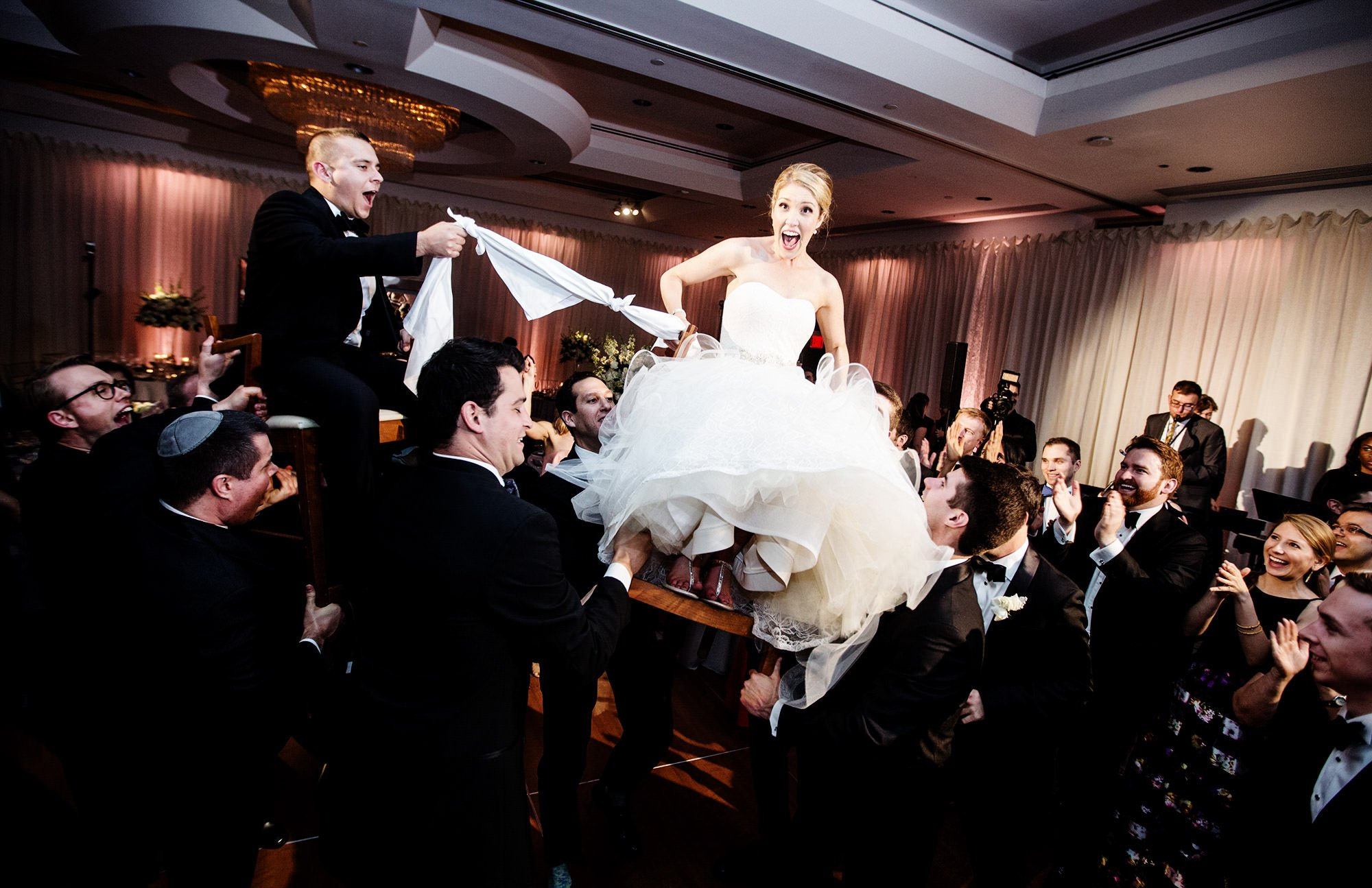 Bride and Groom Hora, Jewish Wedding Dance