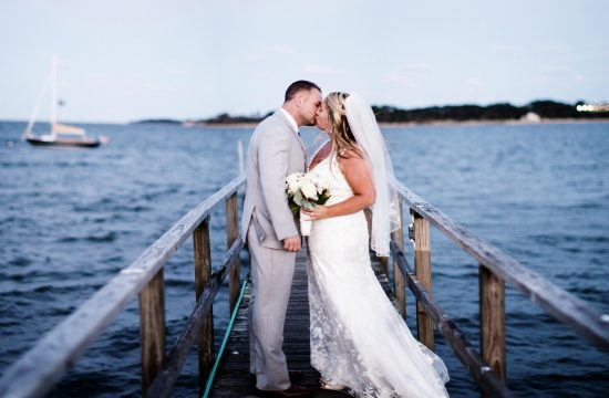 Wequasset Resort and Golf Club Wedding in Harwich, MA, Cape Cod I Portrait of the Bride and Groom
