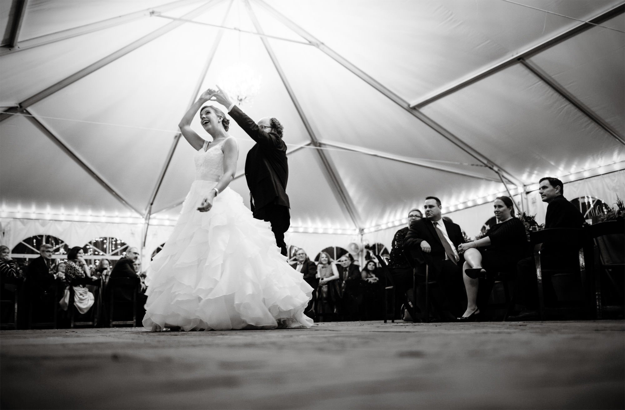 Strong Mansion Wedding in Adamstown, MD  I  The bride and groom share their first dance.