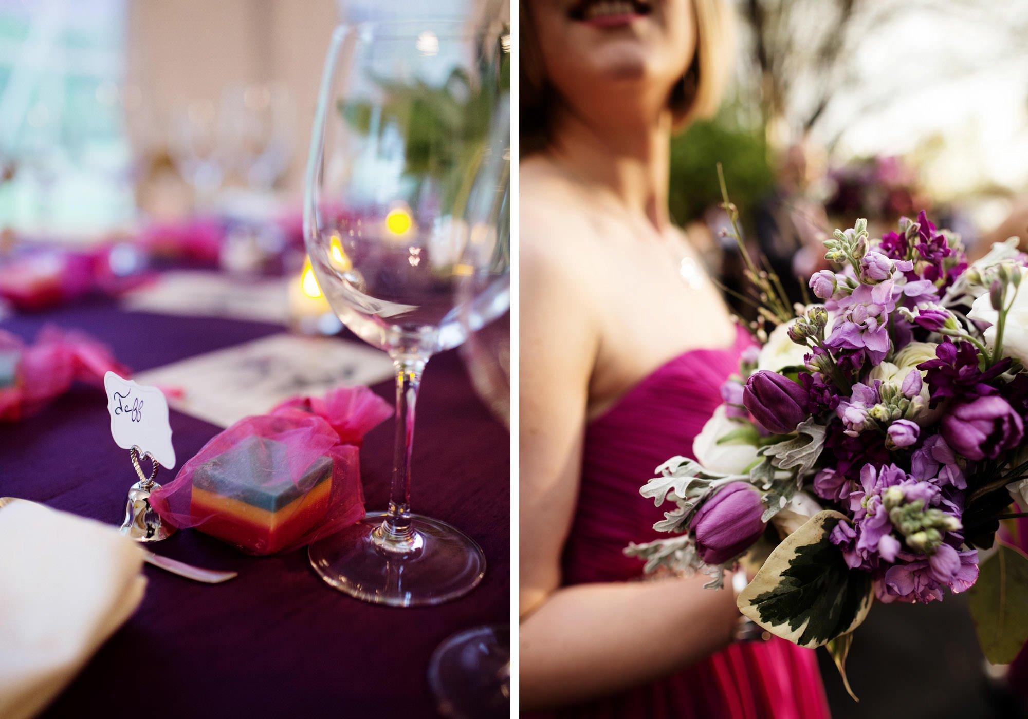 Wedding day details.