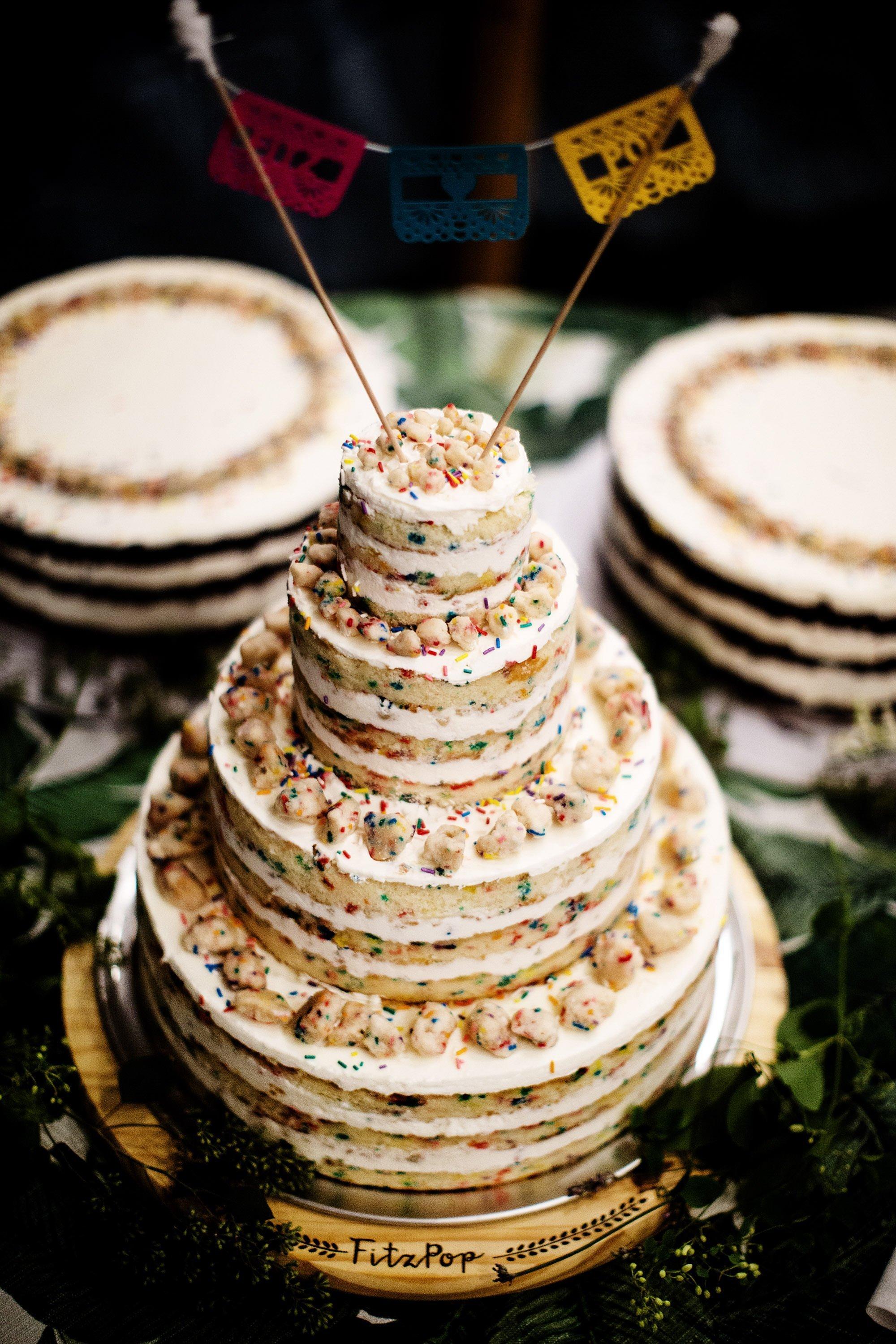 Chatham MA Wedding  I  Cape Cod Wedding  I  The Milk Bar cake.